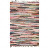 Ręcznie tkany dywanik chindi, bawełna, 160x230 cm, kolorowy