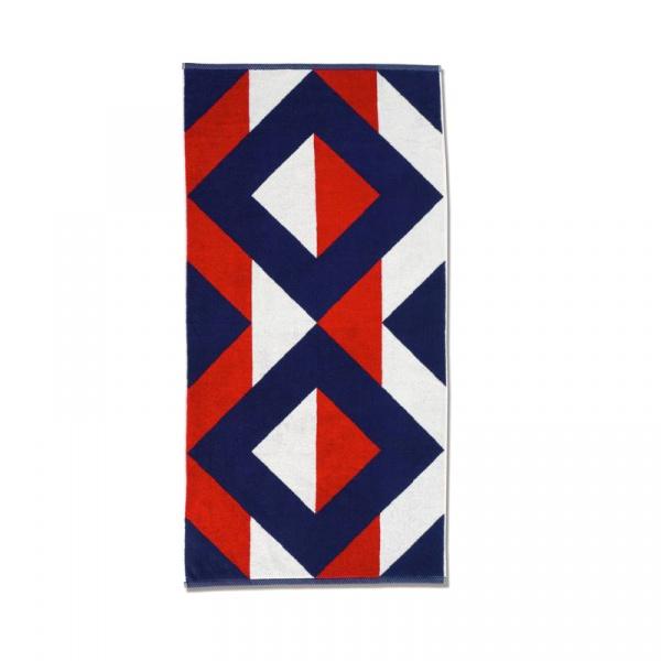 Ręcznik 50 x 100 cm Kela Ladessa czerwono-niebieski KE-20492