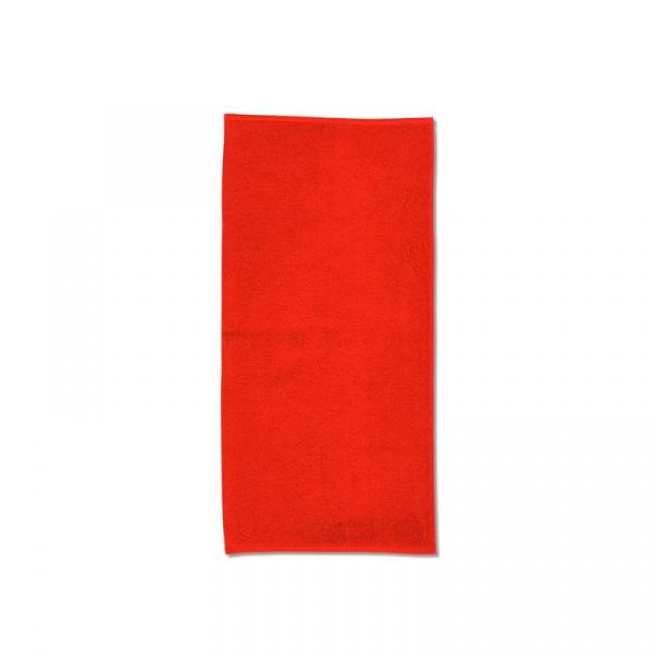 Ręcznik 50 x 100 cm Kela Ladessa czerwony KE-20484