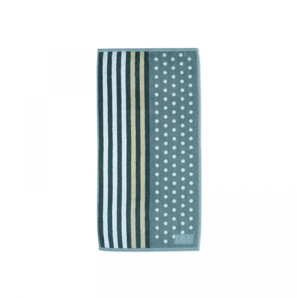 Ręcznik 50x100 cm Kela Ladessa szaro-beżowy KE-22073