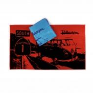 Ręcznik plażowy HIGHWAY 160x90 cm BRISA VW BUS niebieski