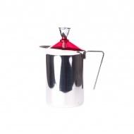 Ręczny spieniacz do mleka 600ml G.A.T. Fantasia Cappuccino czerwony