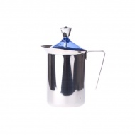 Ręczny spieniacz do mleka 600ml G.A.T. Fantasia Cappuccino niebieski