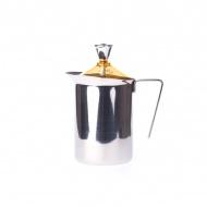 Ręczny spieniacz do mleka 600ml G.A.T. Fantasia Cappuccino żółty