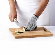 Rękawica do szatkowania 22x13,5 cm Mastrad szaro-czarna