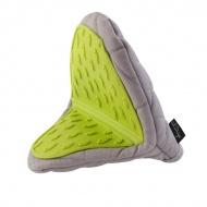 Rękawica kuchenna Vialli Design Livio szaro - zielona