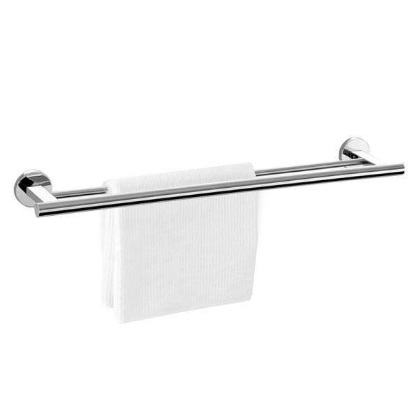 Reling łazienkowy podwójny na ręczniki Zack Scala ZACK-40059