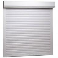 Roleta zewnętrzna, aluminiowa, 100 x 100 cm, biała