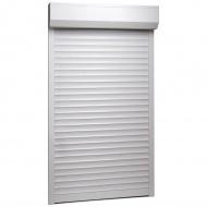 Roleta zewnętrzna, aluminiowa, 100 x 210 cm, biała