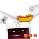 Rozdzielacz do słuchawek Fast Food Splitters Mustard Hot Dog