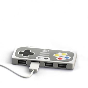 Rozdzielacz USB Super Hub Playhub Mustard kontrolerRozdzielacz USB Super Hub Playhub Mustard kontroler