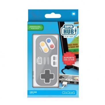 Rozdzielacz USB Super Hub Playhub Mustard kontroler