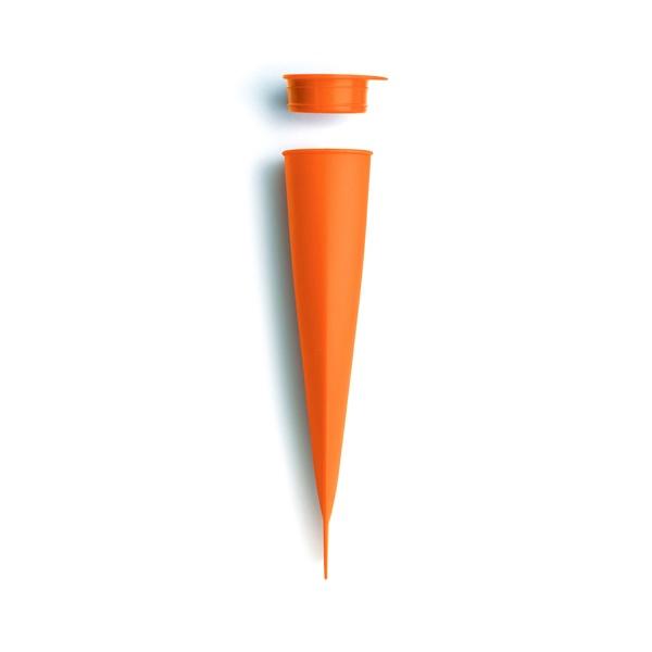 Rożek do lodów i sorbetów Lekue pomarańczowy 3402200N05U002