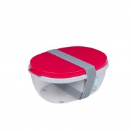Saladbox Ellipse Nordic Red 107640574500