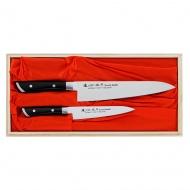 Satake Hiroki Zestaw 2 noży uniwersalny + szefa