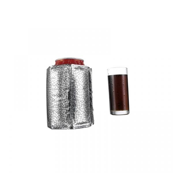 Schładzacz do puszek 0,33l Vacu Vin srebrny VV-3883560