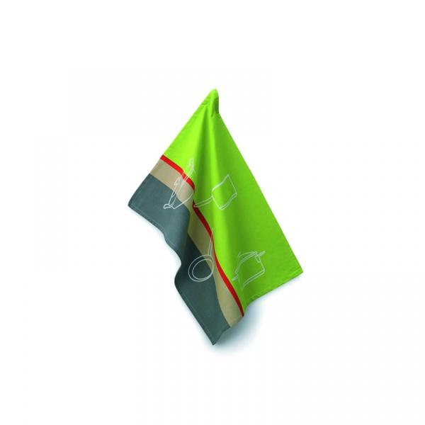 Ściereczka do naczyń 70×50 cm Kela Amalie zielona KE-10703