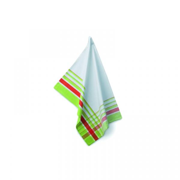 Ściereczka do naczyń 70×50 cm Kela Stripes zielona KE-10700