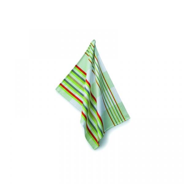 Ściereczka do naczyń 70×50 cm Kela Stripes zielona KE-10701