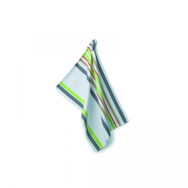 Ściereczka do naczyń 70×50 cm Kela Stripes zielona KE-10702