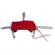 Scyzoryk 3D 9,3x4,3x1,2 cm BRISA VW BUS czerwony