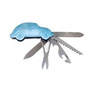 Scyzoryk 3D 9,3x4x1,6 cm BRISA VW Beetle niebieski