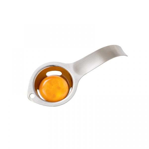 Separator do jajek 17cm MOHA Eggy srebrny MO-80504