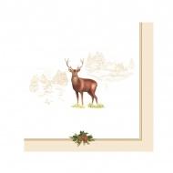 Serwetki deserowe 20 szt. Nuova R2S Deer