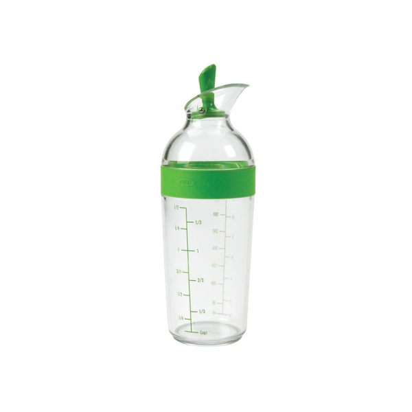 Shaker do dressingów 360 ml OXO Good Grips zielony 1105781MLNYK