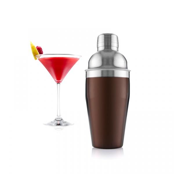 Shaker do koktajli Vacu Vin stalowy VV-78425606