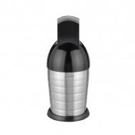 Shaker i rozkruszacz lodu 22,5cm MOHA Party Time srebrno-czarny