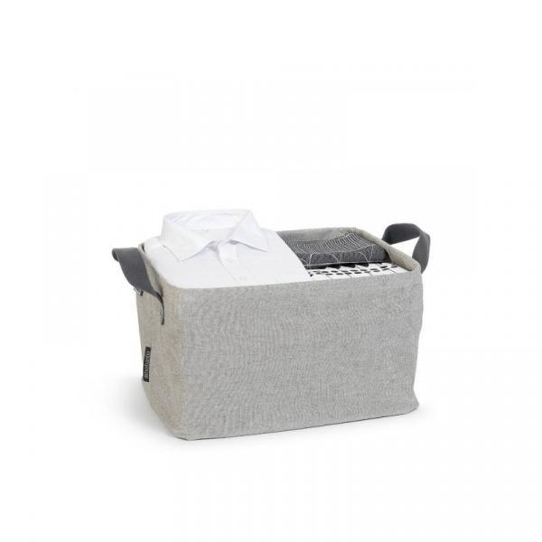 Składany kosz na pranie 35l Brabantia szary BR 10-56-85