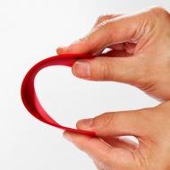 Skrobak silikonowy 15 cm Cuisipro czerwony