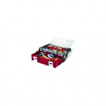 """Skrzynka narzędziowa Cantilever 18"""" 45,8x24x4,5cm Keter DIY wielobarwna 220238"""