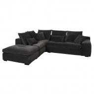 Sofa narożna Cobra z otomaną lewą 270x313x75 cm