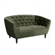 Sofa Ria VIC 2-osobowa zielona