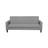 Sofa rozkładana jasnoszara VEHKOO