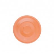 Spodek pod filiżankę 15 cm Kahla Pronto Colore pomarańczowy