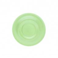 Spodek pod filiżankę lub kubek 16 cm Kahla Pronto Colore zielony