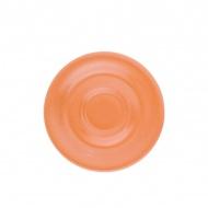 Spodek pod filiżankę lub kubek 16 cm Kahla Pronto Colore pomarańczowy