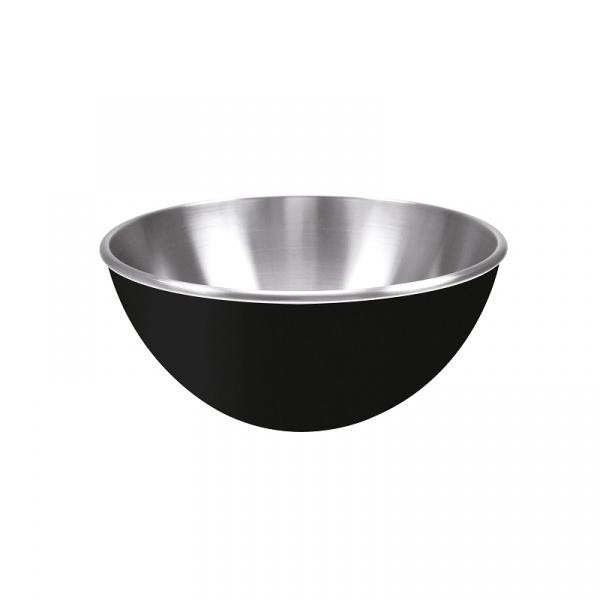 Stalowa miska 16 cm Zak! Design czarna 0015-9971