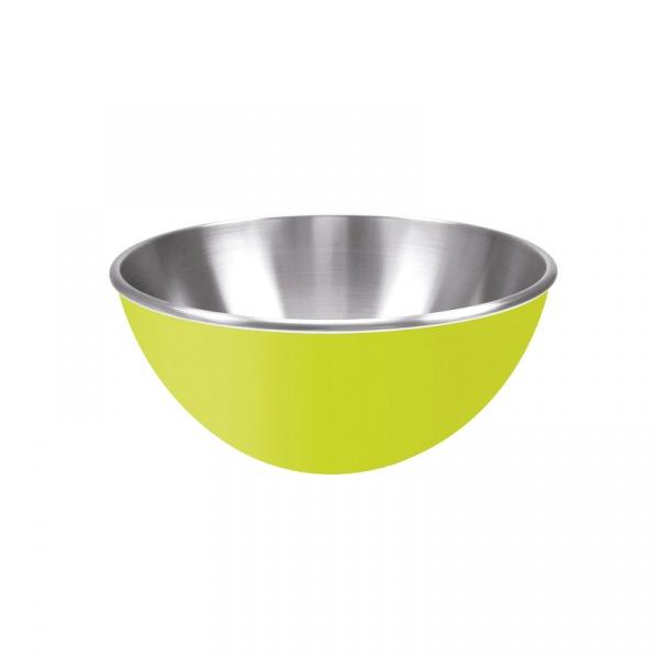 Stalowa miska 16 cm Zak! Design zielona 0204-8256