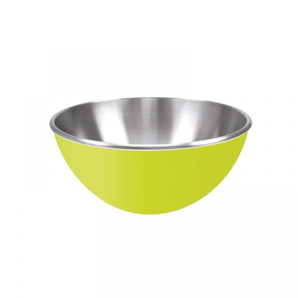 Stalowa miska 25 cm Zak! Design zielona 0204-8255