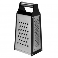Stalowa tarka czterostronna 23x10,5x8,5 cm Lurch czarno-srebrna