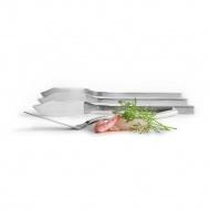 Stalowe noże do ryb 22 cm Sagaform Seafood srebrne