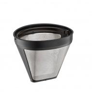 stalowo-plastikowy filtr do kawy, rozmiar 4