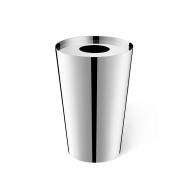 Stalowy kosz łazienkowy 5l Zack Lyos srebrny