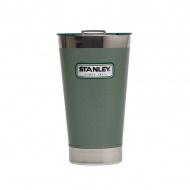Stalowy kufel termiczny 0,47 l Stanley Classic zielony