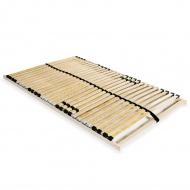 Stelaż do łóżka z 28 listwami, drewno FSC, 7 stref, 140 x 200 cm