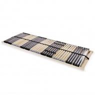 Stelaż do łóżka z 42 listwami, drewno FC, 7 stref, 80x200 cm